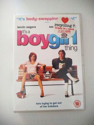 """Película """"It's a boy-girl thing"""""""