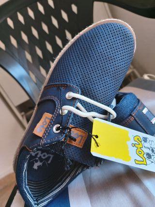 zapatos lois niño suela esparto para verano n 37