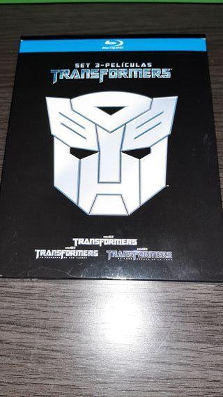 Transformers trilogía blu-ray