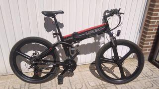 Bicicleta electrica plegable Samebike L026 Averiad