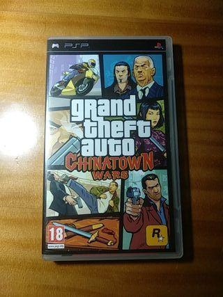 GTA PSP Chinatown Wars