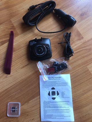 2Mini cámara LCD de coche/hogar grabadora nocturna