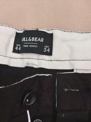 pantalón corto tipo chino hombre talla 44