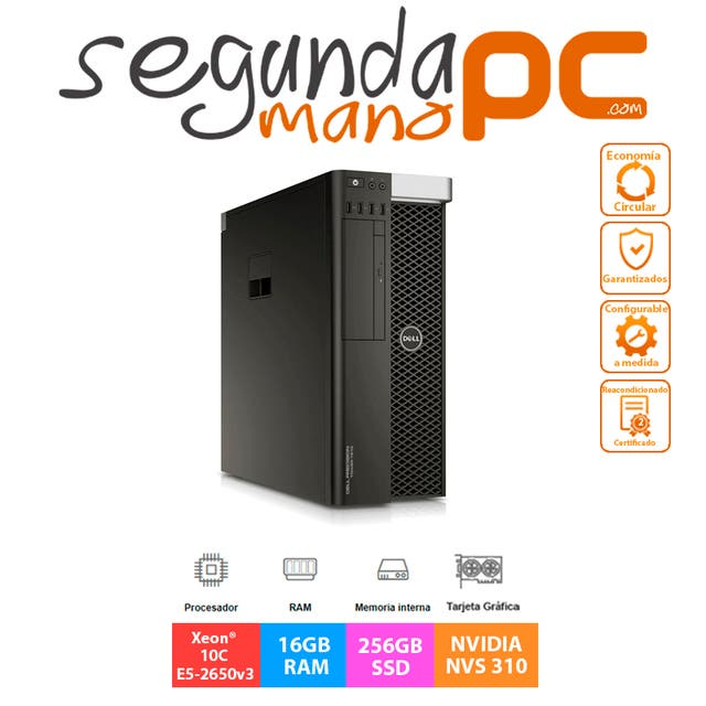 Dell Precision 7810 - Xeon 10C E5-2650v3 - 256GB
