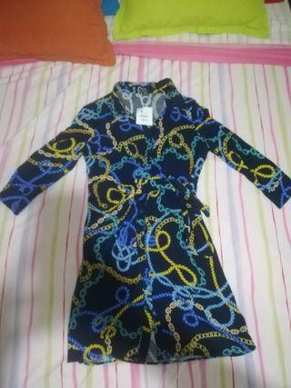 vestido T /xs 36 bershka