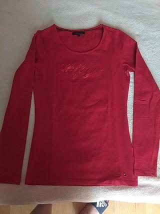 camiseta m/l Tommy Hilfiger chica talla S