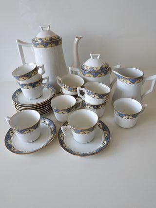 Juego Limoges café porcelana