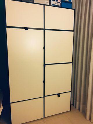 ARMARIO Ikea (Blanco y negro)