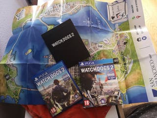 Watch dogs 2 (edición deluxe / deluxe edition) PS4