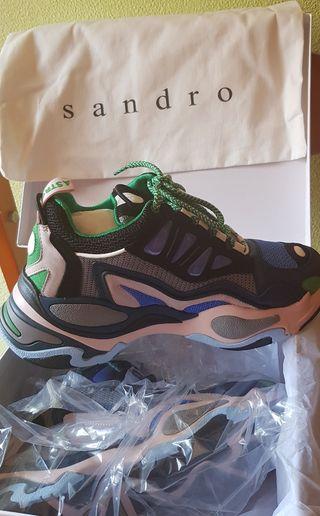 Sneakers a estrenar Sandro t38