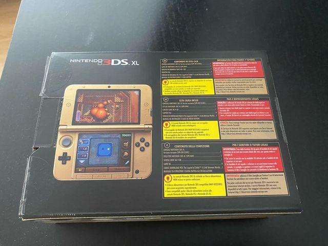 NINTENDO 3DS XL+juego edición limitada zelda de segunda ...