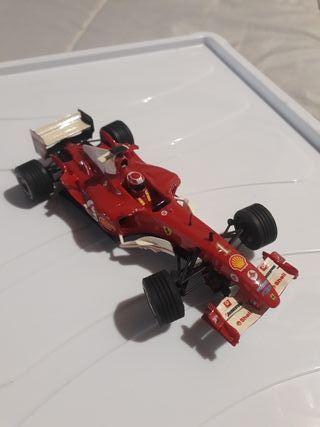 Scalextric Ferrari F1 michael Schumacher