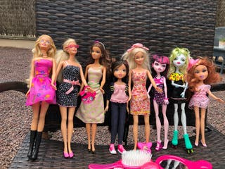 Barbies y Bratz