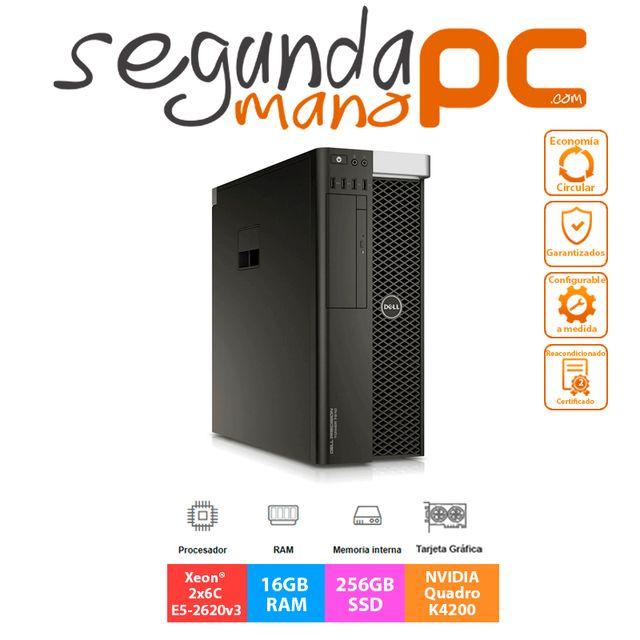 Dell Precision T7810 - Xeon 2x6C E5-2620v3 - 16GB