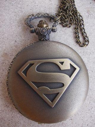 Reloj Bolsillo SUPERMAN