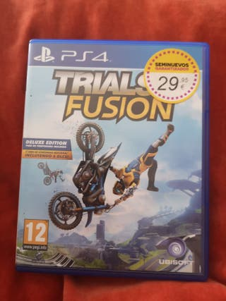 Trials Fusion (deluxe edition) PS4
