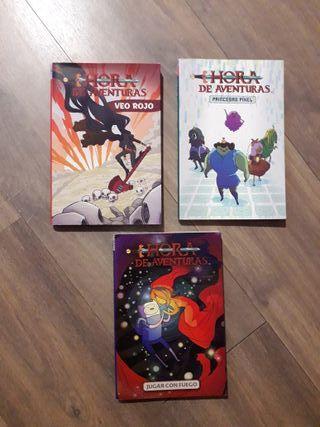 3 Cómics hora de aventuras