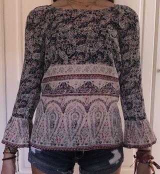 blusa estampado pasley