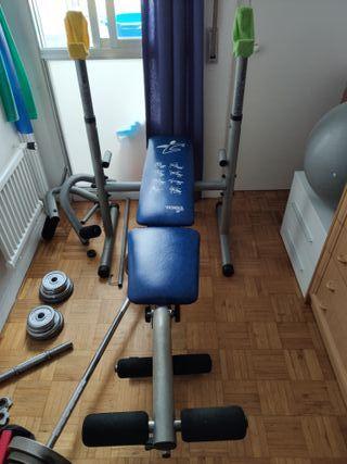 Banco Musculación multifunción