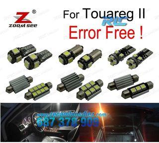 KIT COMPLETO DE 23 BOMBILLAS LED INTERIOR VW TOUAR