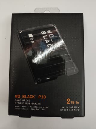 disco duro wd black p10 2tb
