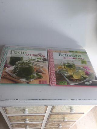 Libros colección de mi cocina
