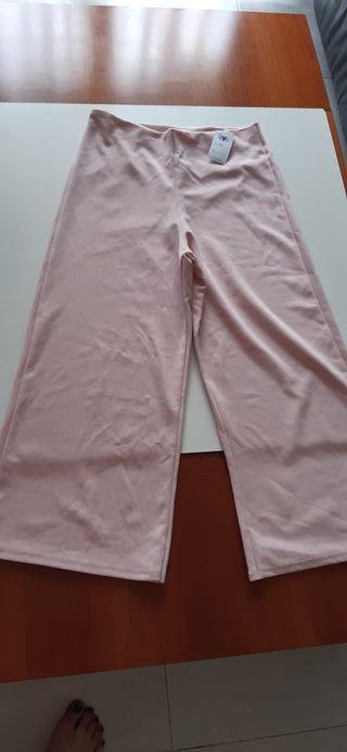 pantalon rosa bebe