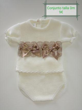 Ropa de bebé - Niña. Tallas 00, 0, 1 y 3