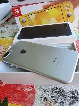 IPHONE 7 PLUS SILVER ULTIMA UNIDAD 128 GB