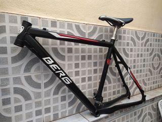Vendo cuadro bicicleta de aluminio
