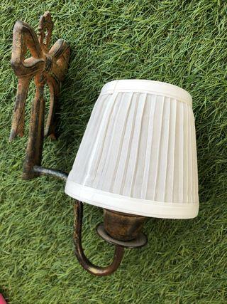 Apliques , lámparas de pared rusticas