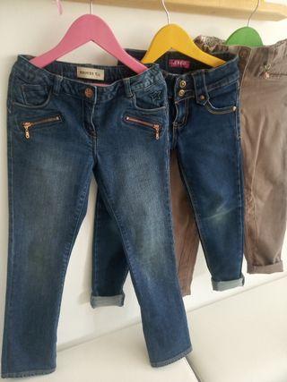 Pantalones niñas