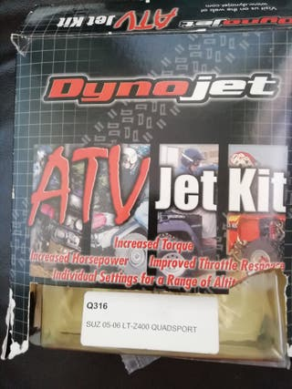 kit chicles y aguja Suzuki ltz 400