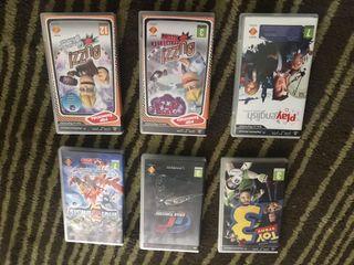 Pack videojuegos para PSP