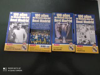 4 cinta VHS real Madrid