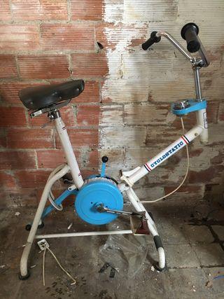 Bicicleta estática antigua CICLOSTATIC