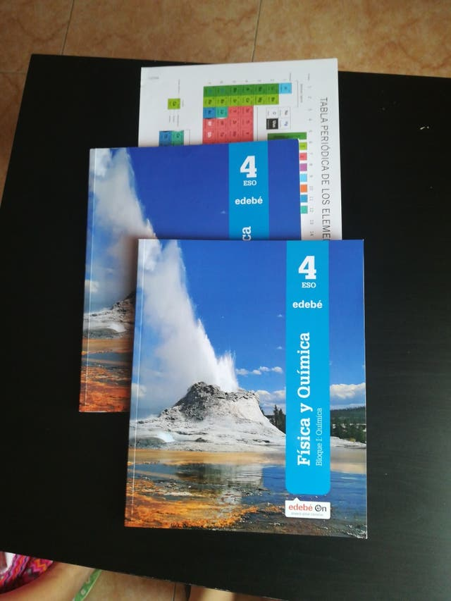 libros física y química 4 de la Eso