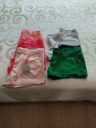 Lote shorts. Talla 13/14