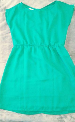 Vestido verde Suite Blanco M