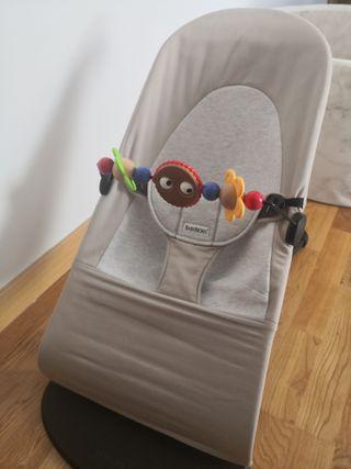 Hamaca BabyBjorn bebé 2 funfas + jugyete