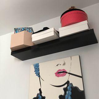 estante de pared lack Ikea