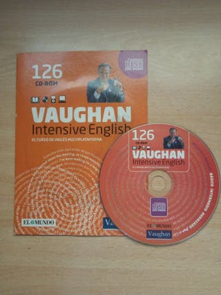 CD-Rom compact disc Vaughan Intensive English 126