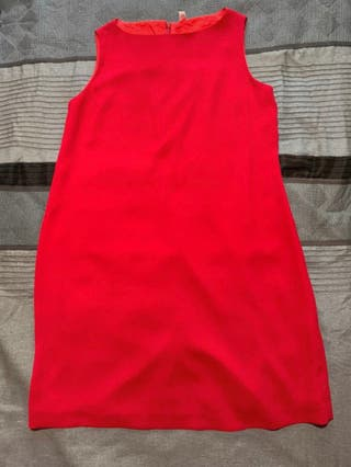 Vestido rojo prenatal