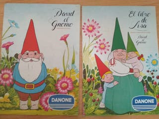 "ALBUM CROMOS "" David el Gnomo"" y ""Lisa"""