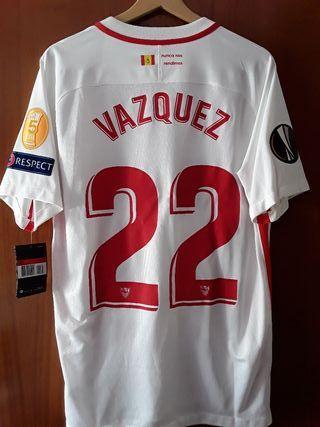Camiseta de fútbol del Sevilla fc