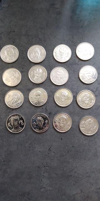 Monedas Eurocopa 2000 Selección española
