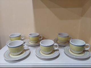 juego de café 12 piezas mediano
