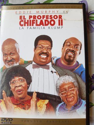 dvd el profesor chiflado 2
