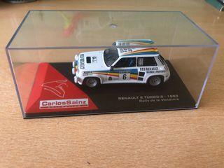 Maqueta Renault 5 turbo 2 1983