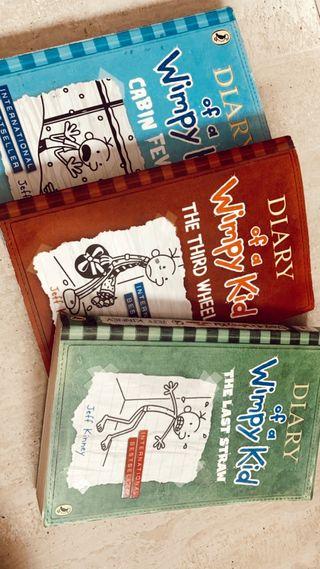Libros en inglés diario de greg